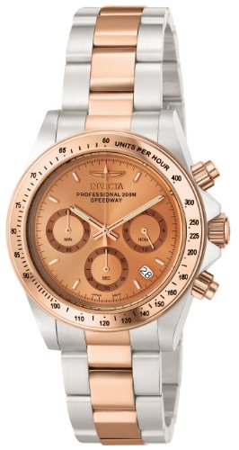 Rose Speedway Gold (Invicta Men's 6933 Speedway Collection Chronograph Stainless Steel Watch)