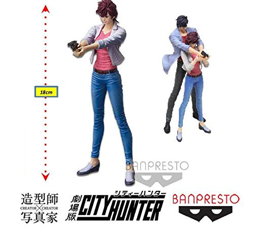City Hunter Movie Creator X Creator - Kaori Makimura Ref. 28993/28994 Bandai Banpresto Cores Diversas, Feita Com Pintura Aerográfica