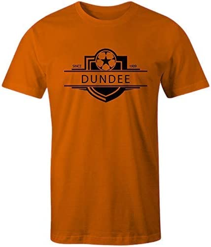 Sporting Empire Dundee United 1909 Established Badge Football T-Shirt