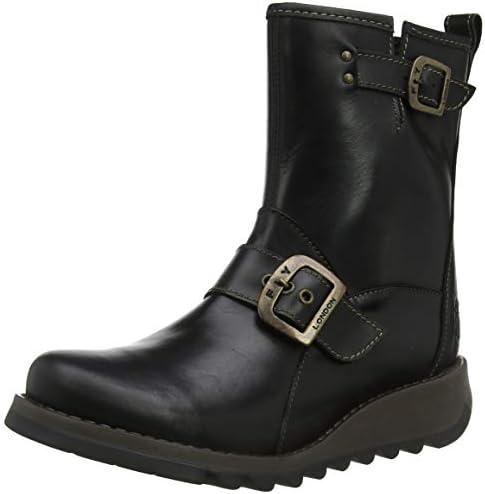 Fly London Women s SINO525FLY Ankle Boots, Black Black 000 , 5 UK 38 EU