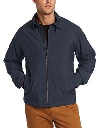 Cutter & Buck Men\'s Big-Tall CB Weathertec Mason Full Zip Jacket, Navy Blue, XX-Large/Tall