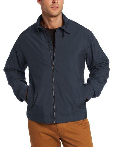 Cutter & Buck Men's CB Weathertec Mason Full Zip Jacket, Navy Blue, Large
