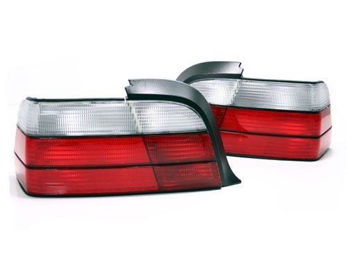 92-99 BMW E36 3-SERIES 2DR COUPE OEM FACTORY STYLE EURO TAILLIGHTS - ()
