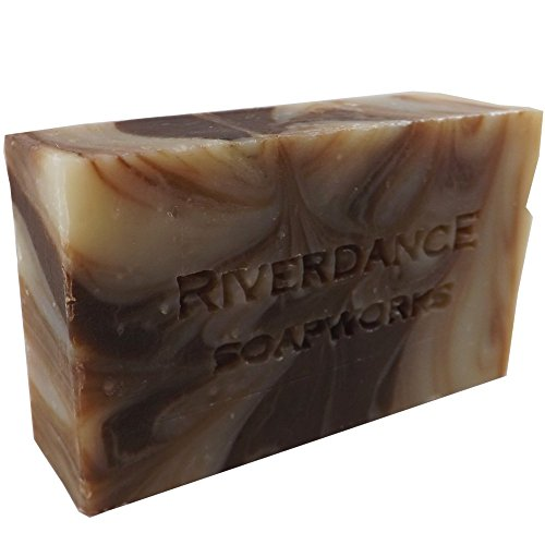 Natural Bar Soap Cedar Whiskey Scented - For All Skin Types - Made with Essential Oils- Local Handcrafted - Scented Soap Bar Soapworks