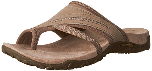 Merrell Women's Terran Post II Athletic Sandal, Taupe, 10 M US