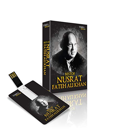 Best of Nusrat Fateh Ali Khan 3.26 GB Music Card Latest Songs USB (Best Of Nusrat Fateh)