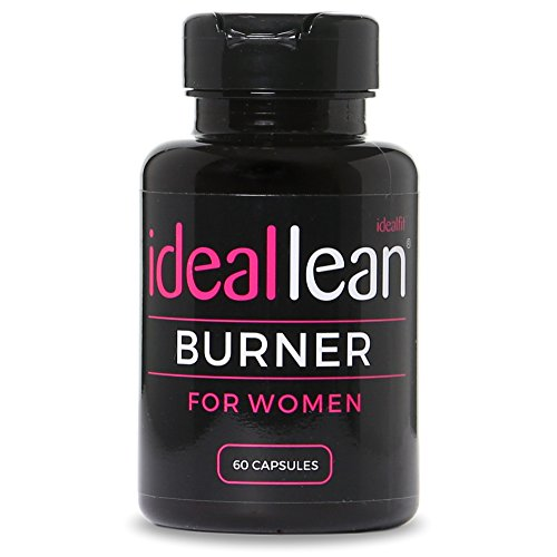 IdealLean Fat Burner pour femmes, grain de café vert, thé vert, CLA, L-Carnitine, 60 portions