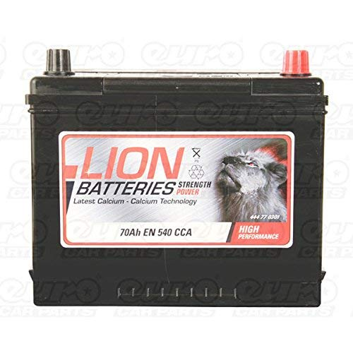 LION BATTERY 030 70AH 540CCA L266 x W172 x H222 0/1