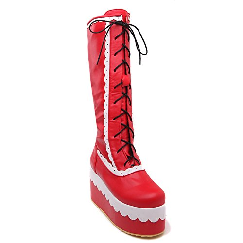 1TO9 1TO9Mns02257 - Zapatilla Alta Mujer Red