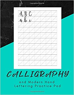 Calligraphy Paper Hand Lettering Calligraphy Book 160 sheet pad