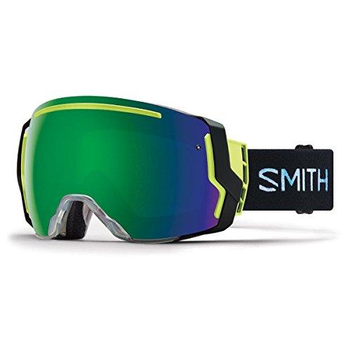 Smith Optics Adult I/O 7 Snowmobile Goggles Squall / ChromaPop Sun Green Mirror by Smith Optics