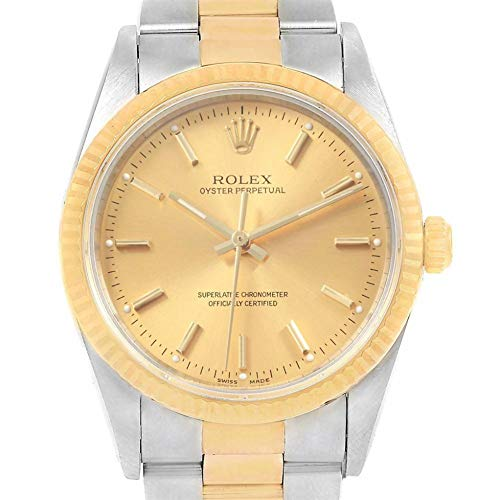 (Rolex Oyster Perpetual Automatic-self-Wind Male Watch 14233 (Certified)