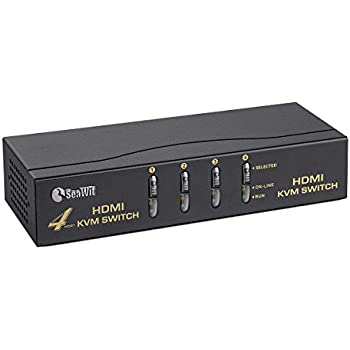 Amazon Com Trendnet 4 Port Usb Ps2 Kvm Switch And Cable
