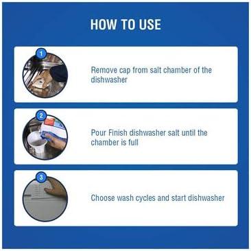 Amazon.com: Acabado lavaplatos descalcificador de agua sal ...