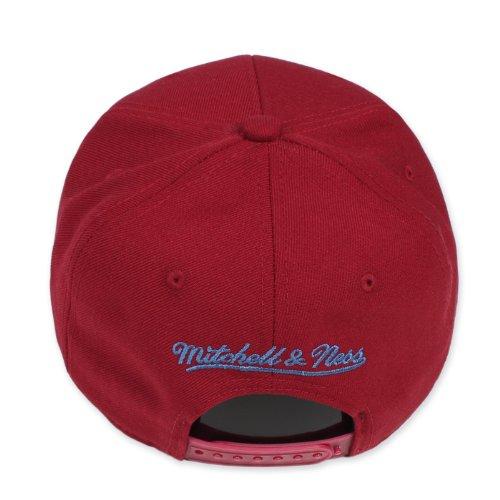 Mitchell béisbol amp; Ness Talla de Hombre para única Gorra Rojo Rojo rZrwxaOq