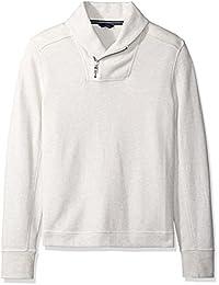 Nautica Men's Long Sleeve Zip Shawl Collar Pullover...