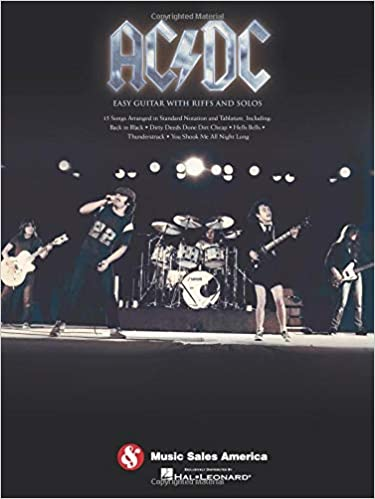 AC/DC: Easy Guitar With Riffs And Solos: Amazon.es: Ac/DC: Libros ...