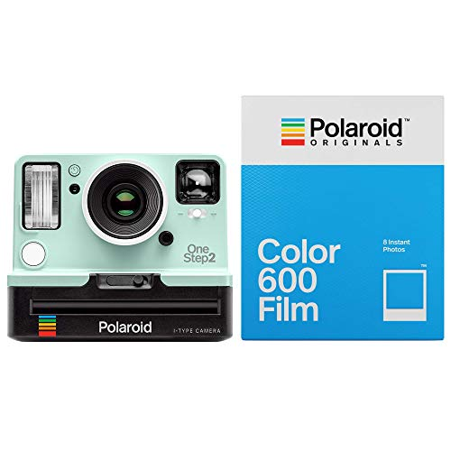 Polaroid Originals 9007 OneStep 2 VF Instant Camera (Mint) with Film Bundles (Color 600)