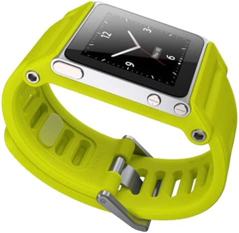 Lunatik Tiktok Reloj Correa De Muñeca Para Ipod Nano 6 G Color Amarillo Amarillo Electronics