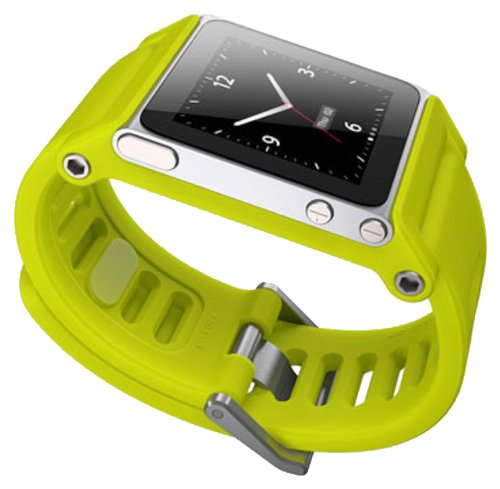 LunaTik TikTok Watch Wrist Strap for iPod Nano 6G - Yellow