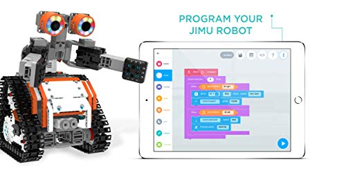 UBTECH JIMU Robot Astrobot Series: Cosmos Kit / App-Enabled Building and Coding STEM Learning Kit (387 Parts and Connectors) by UBTECH (Image #4)