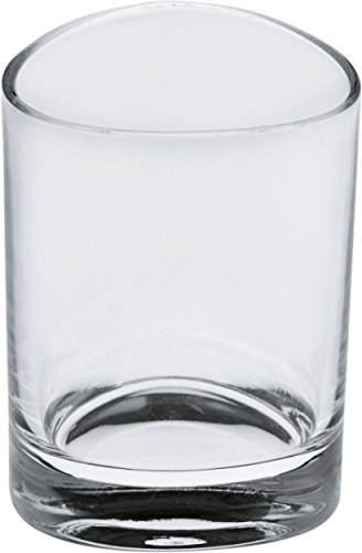 Alessi Colombina 20-1/4-Inch Crystal Aquavit Glass, Set of 6