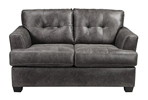 Benchcraft Inmon Loveseat in Charcoal – 6580735