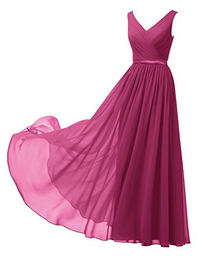 Alicepub Chiffon Bridesmaid Evening Sleeveless product image