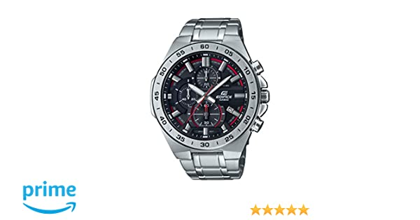 Amazon.com: Casio Mens Edifice Quartz Watch with Stainless-Steel Strap, Silver, 26 (Model: EFR-564D-1AVCR: Watches