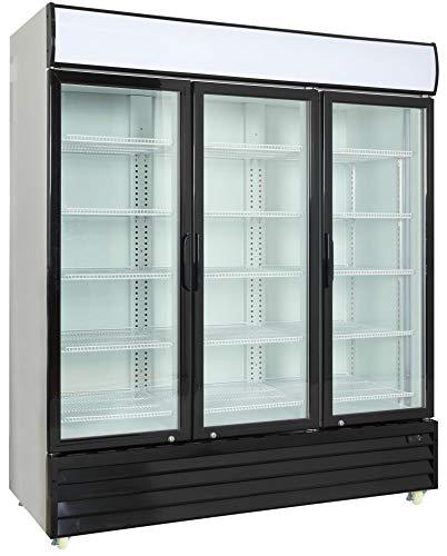 Commercial 3 Glass Door Merchandiser Upright Refrigerator Cooler Cooler Depot