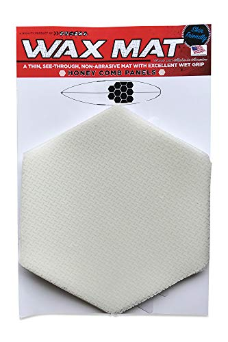 SurfCo - Wax Mat Honeycomb Kit, no Mess Surfboard Wax Alternative