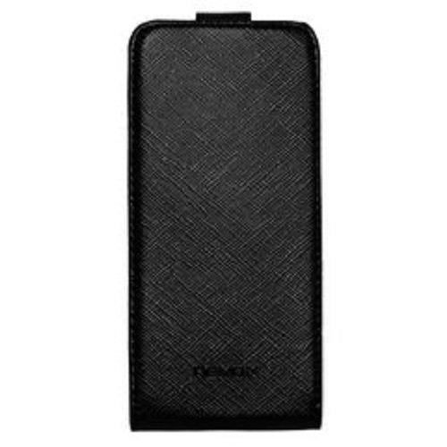 Nevox Relino Flip Tasche Schwarz-Grau für Apple iPhone 5/5S