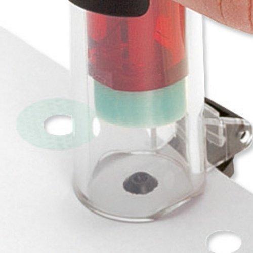 50 rinforzamenti Leitz Rapid SRE 25100411 Rinforzamento automatico di fori per documenti