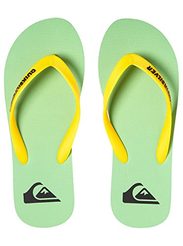 Men's Green Flip Flops White Xkgw UK Black Quiksilver Molokai 8 gwxqgU6