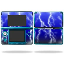 Mightyskins Protective Vinyl Skin Decal Cover for Nintendo 3DS wrap sticker skins Lightning Storm