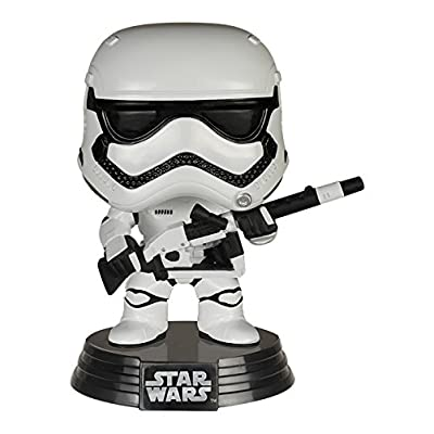 Funko Pop Star Wars: Heavy Artillery First Order Stormtrooper Pop ( Exclusive): Toys & Games