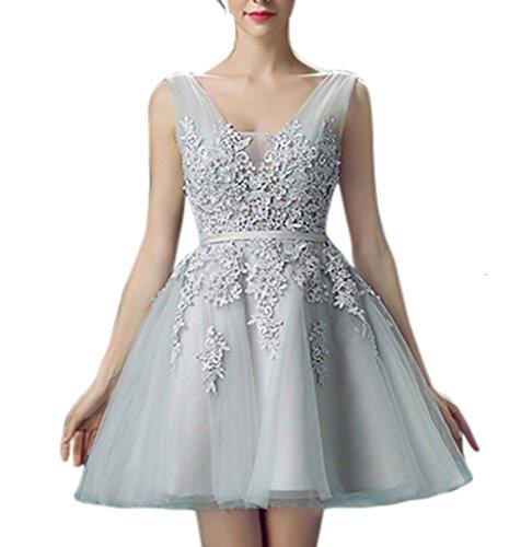 Ysmo - Vestido - Noche - para mujer gris gris 46