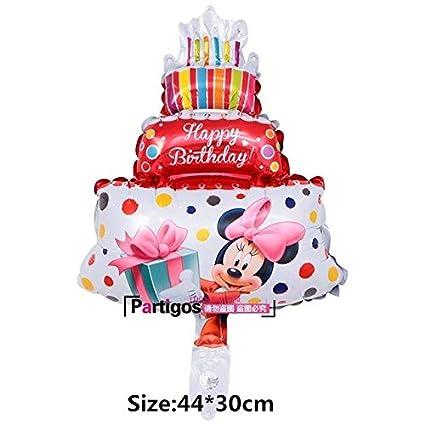 Amazon.com: daisy1030 Globos de feliz cumpleaños – 1 pieza ...