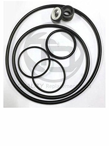Sta-Rite (Max-E-Pro) (STA015) Pool Pump Shaft Seal & O-ring Rebuild/Replacement Kit. For QUICK, EASY and SMART swimming pool pump ()