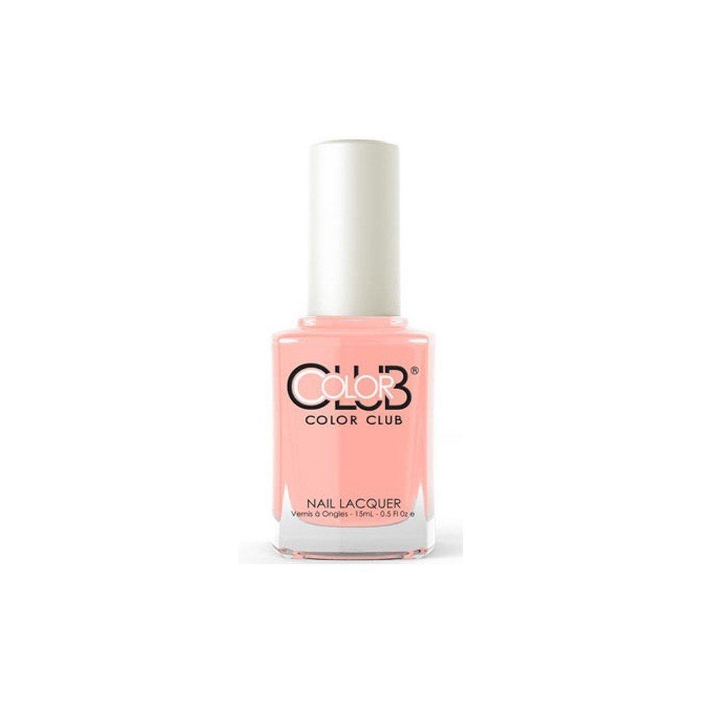 Amazon.com : Color Club Nail Polish, Coral Cascade.05 Ounce : Beauty