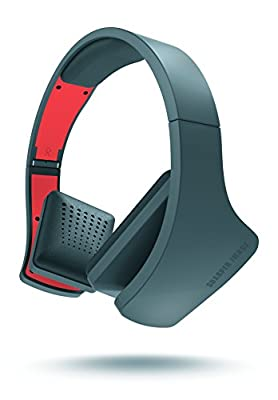 SHARPER IMAGE Universal Tangle Free Premium Foldable Headphones with Mic Compatible with All Devices