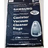samsung canister vacuum - 9000 Samsung Vacuum Replacement Bag (5 Pack)