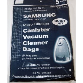 9000 Samsung Vacuum Replacement Bag (5 Pack)