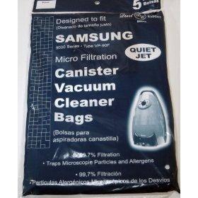 9000 Samsung Vacuum Replacement Bag (5 Pack)