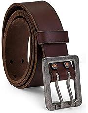 Timberland Cinturón de piel de doble punta de 42 mm. Cinturón para Hombre