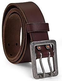 Timberland Pro - Cinturón de piel para hombre, 42 mm