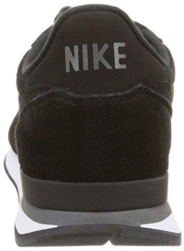 Nike Internationalist Leather - Zapatillas para hombre Black/Black-Dark Grey-White