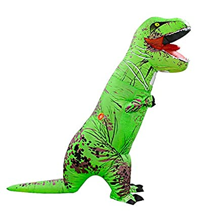 NICOLAS Ropa Inflable del Dinosaurio Adulto, Traje Inflable ...