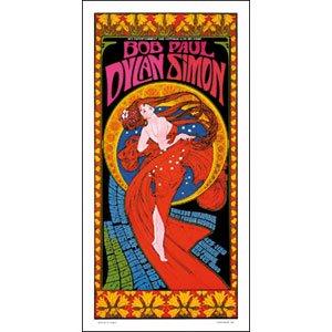 Bob Dylan - Concert Promo Poster