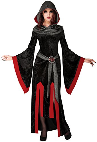 Rubie's Costume Co Women's Dragon Mistress Costume, Black/Red, Standard (Mistress Costumes)